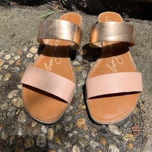 American Rag Bronze Tan Sandals